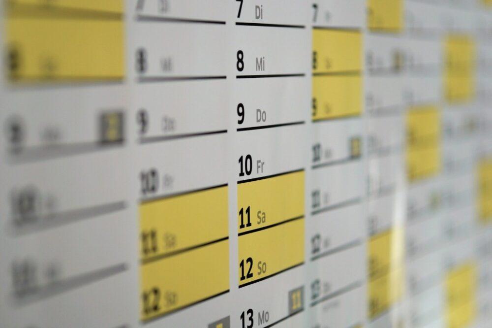 設立にかかる所要日数