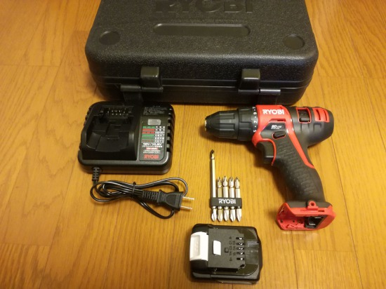 【DIYグッズ】電動ドライバーはリチウムイオン電池式が絶対おすすめ