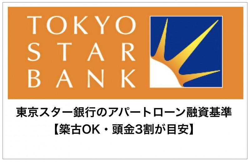 東京スター銀行のアパートローン