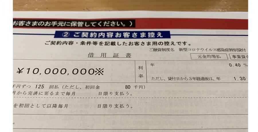 コロナ融資の申請方法