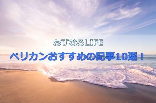ペリカンおすすめの記事10選を紹介!